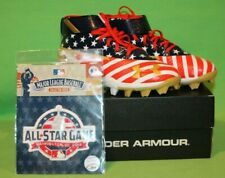 Under Armour 3021488-600 Harper 3 Mid Rim JR LE Cleat USA Flag Red White Blue 4Y