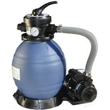 Sand Filter For Above Ground Pool 12 in. With 1/3 Hp Pump Corrosion Resistant