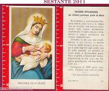 305 SANTINO HOLY CARD S. MARIA MADONNA  DELLE GRAZIE ED G MI ED. G MI. 143