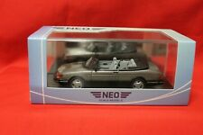 Saab 900 Cabriolet + Neo 1:43 + mint boxed