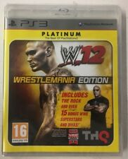 WWE 12 - Wrestlemania Edition - Platinum Edition - Playstation 3/PS3