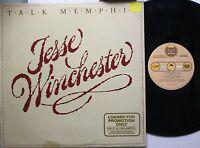 Country Lp Jesse Winchester Talk Memphis On Bearsville