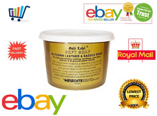 Gold Label Saddle Soap 500gm & Glycerin Leather Horse Care & Grooming