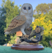 Country Artists - Barn Owl With Horse brasses