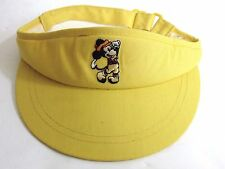 Disney Mickey Mouse Golf Visor Hat Pro Collection Vintage 1980 s Golf Resort 6eb439acb133