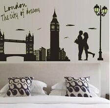 London Tower Bridge 3D Wall Art Sticker Decal Mural Room Size 60*90cm