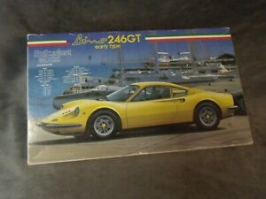 maquette FUJIMI MOKEI 246 GT DINO complet 1/24 VOITURE luxe COURSE lot n°1