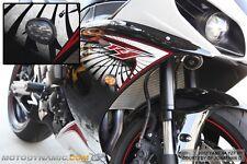 09-14 Yamaha YZF R1 Flush Mount LED Turn Signals Kit Dual Circuit w/ Resistors