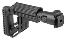 UAS-ZAS P -S Black Folding Buttstock With Cheek Piece