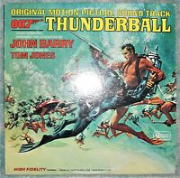John Barry, Thunderball (Original Motion Picture Soundtrack) Vinyl LP 1965 Mono