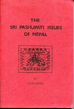 NEPAL  --The Sri Pashupati  Issues  of Nepal by Colin  Hepper   [book lot 4s ]