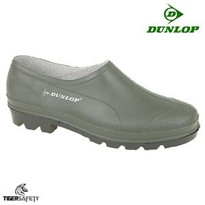 Dunlop B350611 Green Unisex Comfy Waterproof Garden Welly Shoes Gardening Clogs