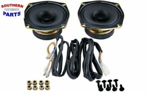 REAR SPEAKER KIT WITH WIRING HARNESS HONDA GOLDWING GL1800  2001-2005