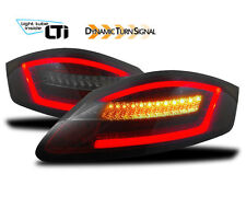 RED smoked finish FULL LED tail rear lights for Porsche Boxster Cayman 987