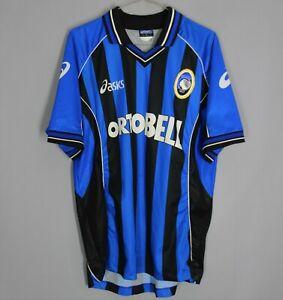 ATALANTA ITALY 2001 2002 HOME FOOTBALL SHIRT JERSEY MAGLIA VINTAGE ASICS SIZE L