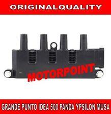 BOBINA ACCENSIONE FIAT GRANDE PUNTO PANDA 500 IDEA MUSA YPSILON 1.2 1.4 BAE940A