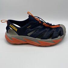 HOKA ONE ONE Hopara Men's Trail HIKING Black Iris / Red Sandal Shoes Size 11.5
