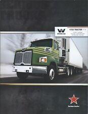 Truck Brochure - Western Star - 4700 Tractor SF SB - Dry Bulk et al 2013 (T2209)