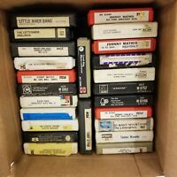 Lot Of 24 Vintage 8 Track Tapes, Various Artist's, See Pictures