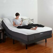 Adjustable Comfort Bed Base with Wireless Remote USB Port and Massage Queen Size