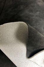 ORIGINAL Alcantara Stoff Cover SCHWARZ mit 1mm Schaumstoff Rücken super dehnbar