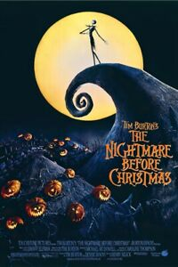 """The Nightmare Before Christmas - Movie Poster (Regular) (Size: 24"""" X 36"""")"""