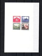 GERMANY 1930 SCOTT# B33 SOUVENIR SHEET INTL PHILATELIC EXHIBITION. MNH. REPLICA.