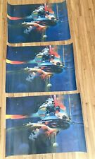 John Berkey Signed Odyssey Final Connection Posters Lot of 3