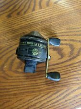 Vintage Zebco 50 Classic 50th Anniversary casting reel made in Usa