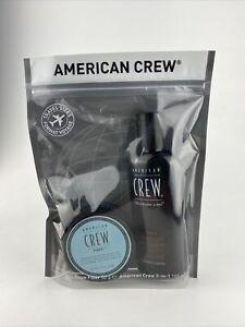 American Crew - Fiber 50g + 3in1 100ml - Travel Sizes - Travel Set - Reiseset