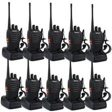 10-Pack Retevis H777 WalkieTalkie UHF400-470MHz 2-Way Radios US **FREE SHIP**