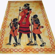 Colcha PAÑUELO Decorativo África cotinado pared edredón de cama Tapicería
