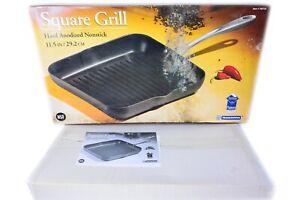 Tramontina Black Square Grill Non Stick Teflon Coating NSF Compliant Cookware