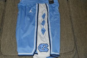 NWT Men's UNC Carolina Tar Heels Nike Jordan Limited Basketball Shorts (2XL)