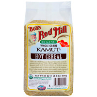 Bob's Red Mill Organic Whole Grain Kamut Hot Cereal 24 oz Pkg