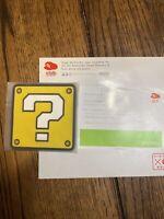 Club Nintendo Rubber coaster hatena Question Block Exclusive item