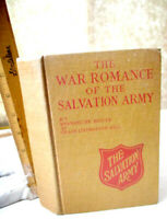 WAR Of ROMANCE Of The SALVATION ARMY,1919,Evangeline Booth,1st Ed,Illust