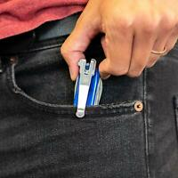 SwissQlip Deep Carry Pocket Clip - Fits 91mm Victorinox Swiss Army Knife Knives