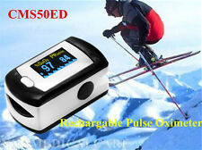 Fingertip Pulse Oximeter SPO2 PR Monitor with Rechargable Lithiumbattery CMS50ED
