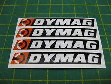 4 DYMAG Alloy Spoke wheel Stickers