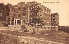 Bristol Connecticut Hospital Street View Antique Postcard K103460