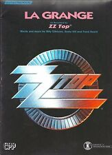 """ZZ TOP-LA GRANGE"" GUITAR/TAB/VOCAL SHEET MUSIC-EXTREMELY RARE-BRAND NEW-ON SALE"