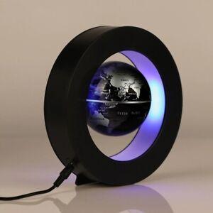 Magnetic Levitation Globe Anti Gravity Floating LED World Map Deco O C Type GIFT
