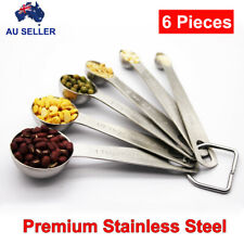 Measuring Spoons Set, Premium stainless steel kitchen utensils for powder liquid