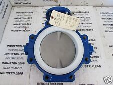 ABZ 8'' BUTTERFLY VALVE 919-9523 SEAT EPDM MADE WITH TEFLON NEW