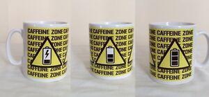 Caffeine Zone Mug. Novelty Gift Mug. Funny Mugs For Birthdays, Christmas