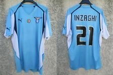 Maillot LAZIO ROME ROMA vintage UEFA 2005 maglia INZAGHI n°21 shirt PUMA rare XL