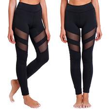 Sports Pants High Waist YOGA Gym Fitness Leggings Stretch Women Trousers US S903
