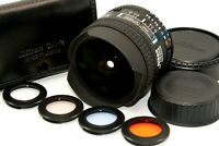 Near Mint Nikon Ai AF Fisheye NIKKOR 16mm f/2.8 D Ultra Wide Angle Lens Japan