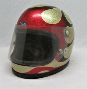 Vintage Pro - Fit / Pro 750 Flamed Racing Helmet / Bell, Buco, Arthur Fulmer